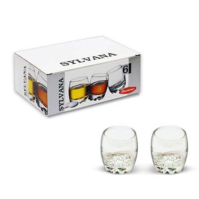 """PASABAHCE Набор стаканов 6шт для водки, 80мл, """"Sylvana"""", 42244B - 1"""