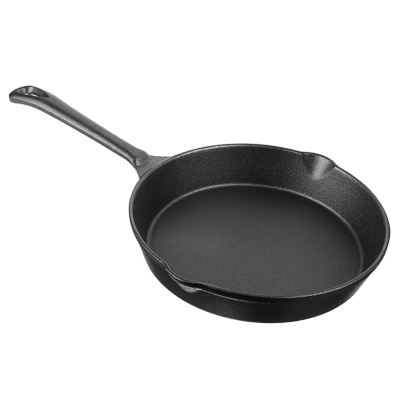 Сковорода чугунная d. 20 см VETTA, 2 слива - 1
