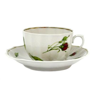 Чайная пара 200мл Бутоны раскидные в подар упак 7984105У ФВ - 1