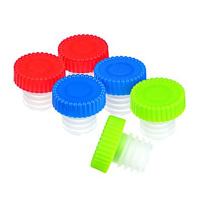 Набор пробок для бутылки 6 шт, пластик, 2,5х2,5 см - 1