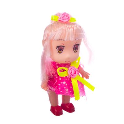 """Кукла """"Мила"""" 8см, дизайны в асс-те, пластик - 1"""
