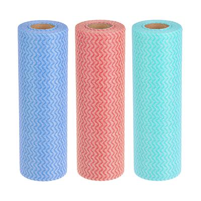 Набор салфеток в рулоне из вискозы 50 шт, 25x30 см, VETTA - 1