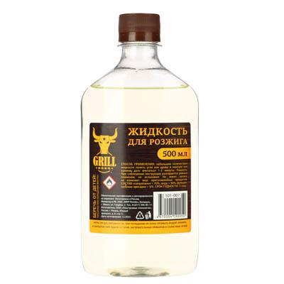Жидкость для розжига костра, 500 мл - 1