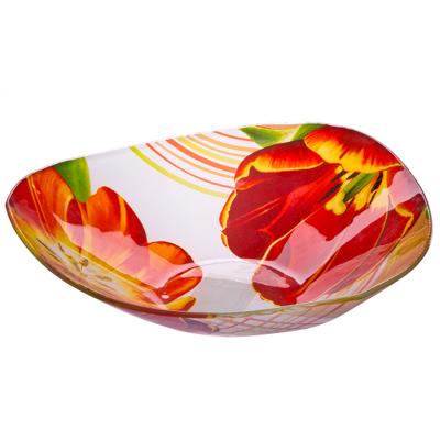 VETTA Моника Салатник треугольный стекло, 25,4см, S332010 - 1