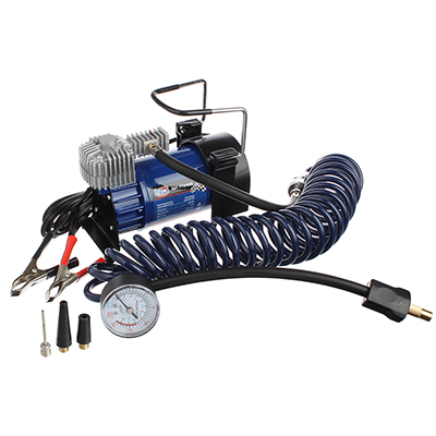 NEW GALAXY Компрессор автомобильный, крокодилы к АКБ, шланг 5м, в сумке 12V, 280W, 60 л/мин, металл