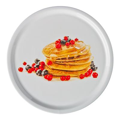Блюдо для блинов круглое, фрф, 25x25x1,5см, подар.уп. - 1