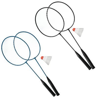 Набор для бадминтона в сетке, ракетка 2 шт, волан, 100 - 1