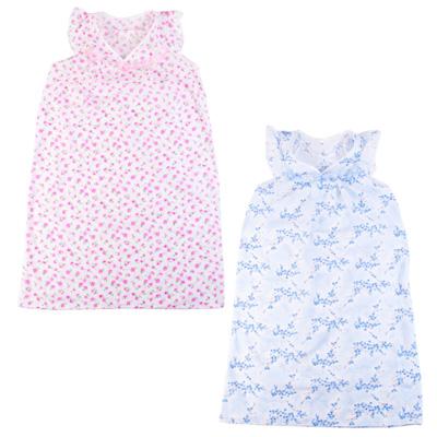 Сорочка ночная женская р.52, 100% хлопок, Улыбка, 2 цвета - 1