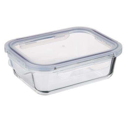 Контейнер для продуктов 1 л VETTA, на защелках, жаропрочное стекло - 1