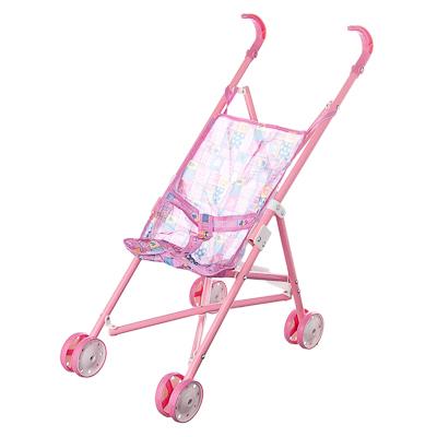 МЕШОК ПОДАРКОВ Коляска для кукол прогулочная розовая, пластик, текстиль, металл, 59х21,5х36см - 1