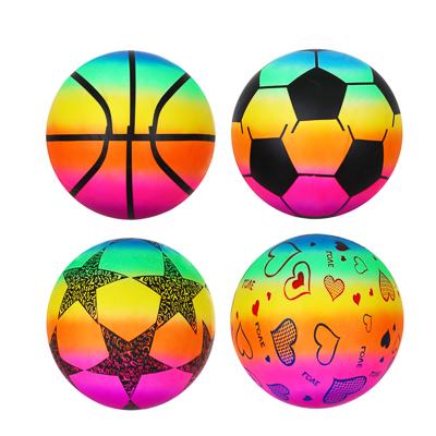 """Мяч """"Яркий день"""", ПВХ, 25см, 4 цвета - 1"""