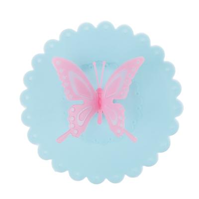 """Крышка для кружки VETTA силикон, 10,5 см, """"Бабочка"""", 3 цвета - 1"""