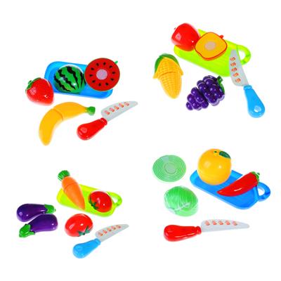 МЕШОК ПОДАРКОВ Набор продуктов для резки с доской и ножом, пластик, 16х13х5см, 4 дизайна, 100989693 - 1