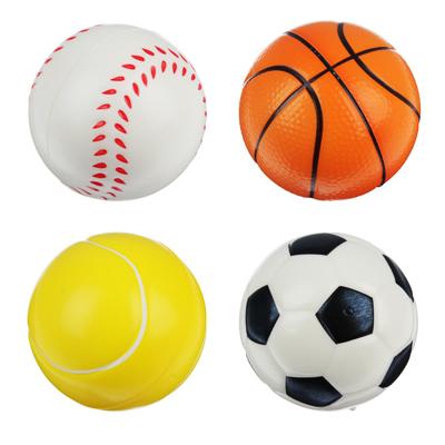 """Мяч """"Спорт"""", ПВХ, 7,6см, 4 дизайна - 1"""