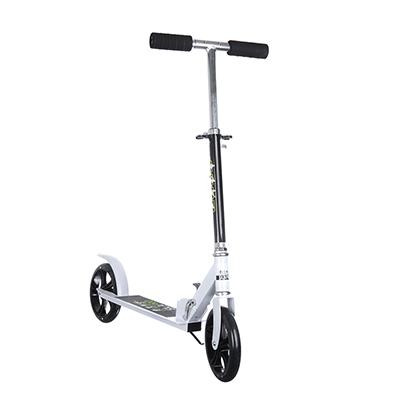 Самокат 2-х колесный, колеса PU, d 20 см, алюминий, металл, до 90 кг, 87х10х110 см, SILAPRO, КМ-896 - 1