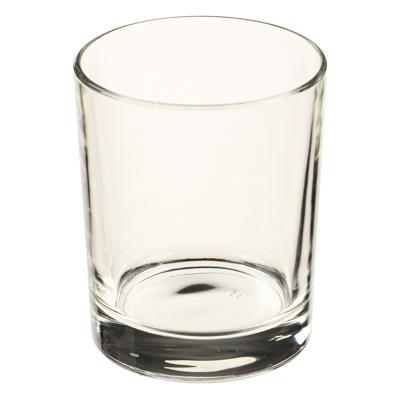 """Стакан стеклянный низкий 250 мл, """"гладкий"""" - 1"""