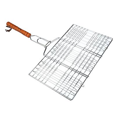 Решётка-гриль хромированная 47х(34x20) см, GRILLBOOM - 1