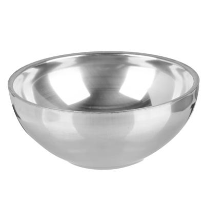 Чашка глубокая, походная ЧИНГИСХАН двухслойная, 280мл, 12х5см металл - 1
