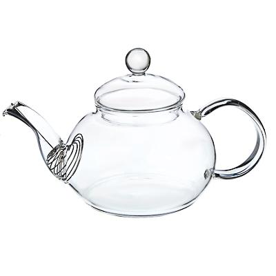 Чайник заварочный 600 мл VETTA, с металлическим фильтром, стекло - 1