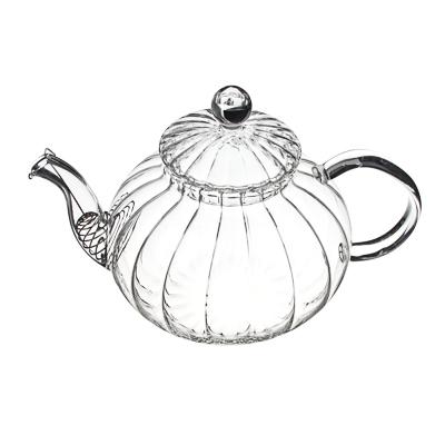 Чайник заварочный 800 мл VETTA, с металлическим фильтром, стекло - 1