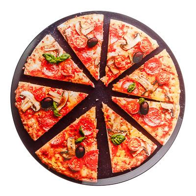 """Блюдо 35см, стекло, """"Пицца"""" - 1"""
