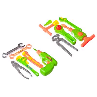 """Набор игровой """"Инструменты строительные"""", пластик, 15х19х3см, 2 дизайна, 326-639 - 1"""
