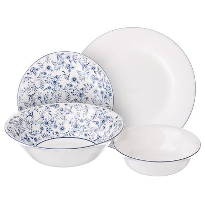 """Набор столовой посуды 19 предметов, MILLIMI """"Венера"""" - 1"""