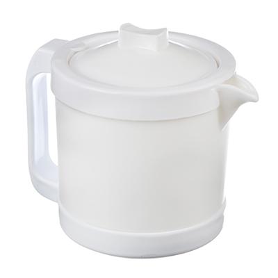 MILLIMI Бьянко Чайник заварочный 1л опаловое стекло (пластиковая ручка), CH10T - 1