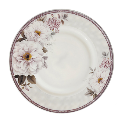MILLIMI Орнелла Тарелка десертная, опаловое стекло, 20см, HP80T-16092 - 1