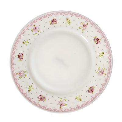 MILLIMI Сабина Тарелка десертная, опаловое стекло, 20см, HP80T-16119 - 1