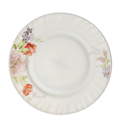 "Тарелка десертная, опаловое стекло, 20 см, MILLIMI ""Кармина"" - 1"