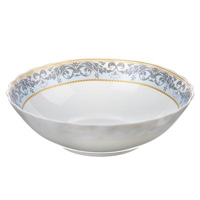 MILLIMI Аделина Салатник, опаловое стекло, 227мм, 1470мл, HW90T-16142A - 1