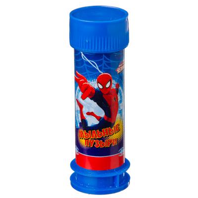 """Мыльные пузыри """"МАРВЕЛ. Человек-паук"""", 45мл, мыльный раствор, пластик, 1864554 - 1"""