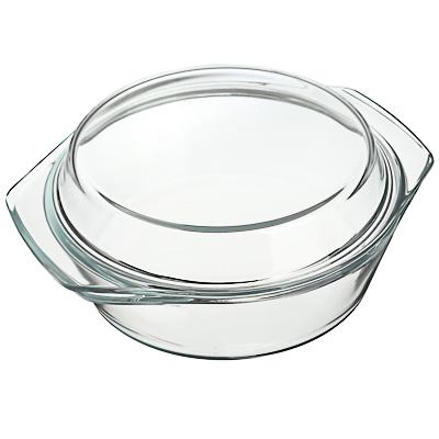 Кастрюля жаропрочная с крышкой 1,4 л SATOSHI, стекло - 1