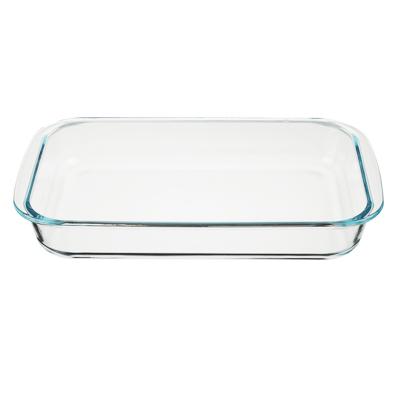 Форма для запекания жаропрочная 2 л SATOSHI, 34х21х5 см, стекло - 1