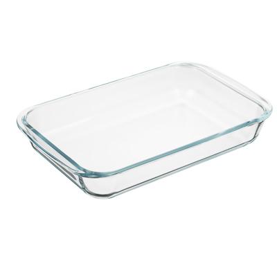 Форма для запекания жаропрочная 1,5 л SATOSHI, с ручками, стекло - 1