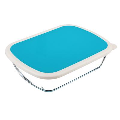 Форма для запекания/хранения 1.25 л SATOSHI, 23х17,5х6 см, жаропрочное стекло - 1