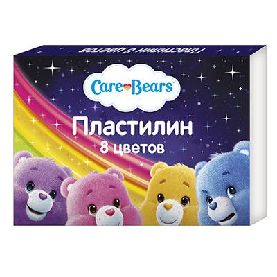 """РОСМЭН Пластилин """"Мультфильмы"""" 8 цветов, 15х11х1,5см, 5 дизайнов - 1"""