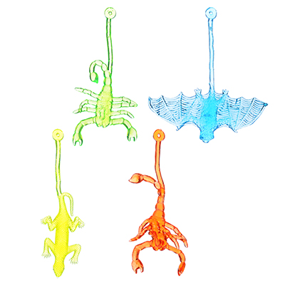 LASTIKS Игрушка-лизун в виде насекомого/животного, полимер, 12-15см, 4 дизайна - 1