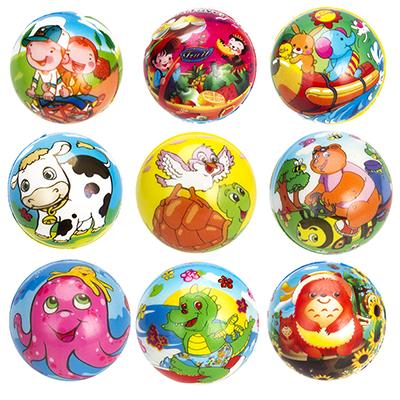 """Мяч """"Веселые животные"""", ПВХ, 6,3см, 2-5 дизайнов - 1"""