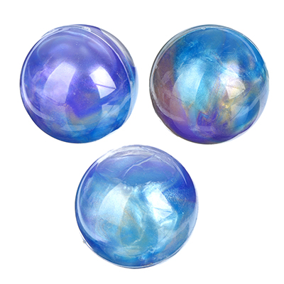 """LASTIKS Игрушка-лизун в баночке твердый """"Сфера"""", полимер, d4см, 3 цвета - 1"""