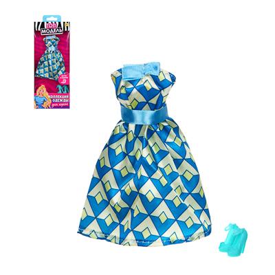 ИГРОЛЕНД Одежда для кукол с аксессуарами, текстиль, пластик, 6 дизайнов, 15,5х26х2,5см - 1