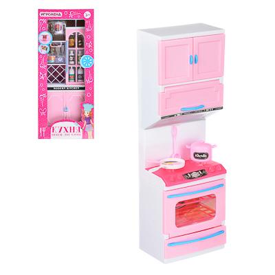ИГРОЛЕНД Мебель для кукол Кухня, пластик, 15-17,5х8-9х36см, 3-6 дизайнов - 1