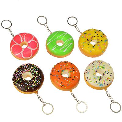 "Игрушка-мялка ""Пончик"", с ароматом, ПУ, металл, d7см, 4-6 цветов - 1"