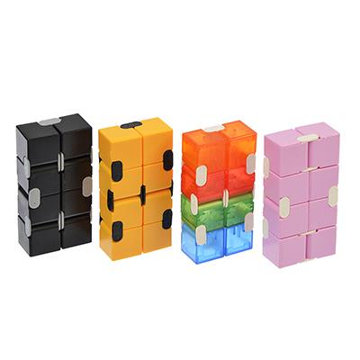 "Игрушка-антистресс ""Кубик-бесконечность"", пластик, металл, 4х2х8см, 5 дизайнов, SM1226-1/5/8/9 - 1"
