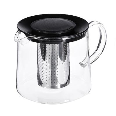 Чайник заварочный 1,5 л SATOSHI Цейлон, жаропрочное стекло - 1