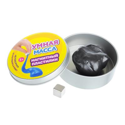 Умная масса Магнитный пластилин (магнит в комплекте), полимер, 58-60гр - 1