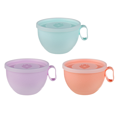 Чашка с крышкой VETTA 0,5л, пластик - 1