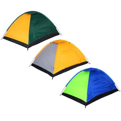 Палатка 4-местная ЧИНГИСХАН Стандарт, 190х190х130см, нейлон 170T, дно оксфорд 150D - 1