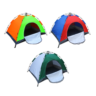 Палатка 2-местная ЧИНГИСХАН Автомат, 200х145х125см, нейлон 170T, дно оксфорд 150D - 1